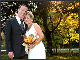 Vermont Weddings Couple